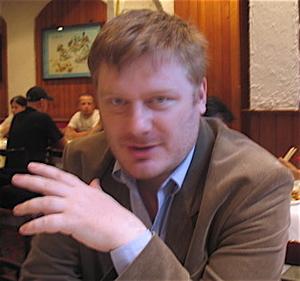 Antoine Clarke, grandson of Charles Exbrayat